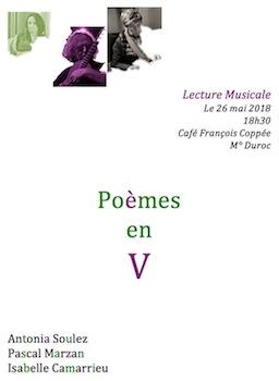Flyer poésie en V